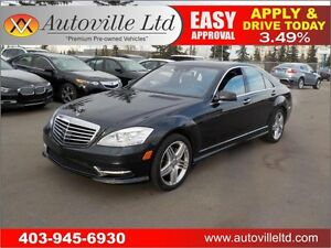 2013 Mercedes-Benz S-Class S550 4MATIC FULLY LOADED 2 DVD