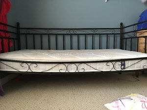 Day bed and single mattress