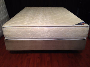 Awesome New Queen Serta Double Pillow Top Extra Firm