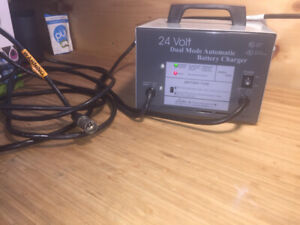 Lester 24V charger for mobility scooter or power wheelchair