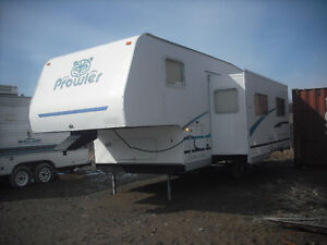 2001 Prowler Fifth-Wheel with Slide-out, only $ 7,500.