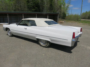 GET READY FOR SUMMER CRUISE WITH A 1969 CADILLAC CONV.