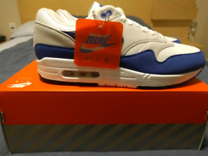 DS Nike Air Max 1 Anniversary Royal Blue Size 10.5