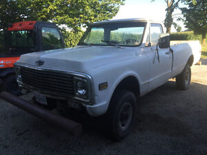 PICKUP 1970 3/4 TON 4 WHEEL LONG BOX