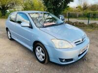 2006 Toyota Corolla 1.6 VVT-i Colour Collection 3dr Hatchback Petrol Automatic