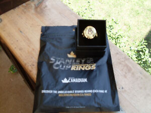 """Montreal Maroons Molson Stanley Cup Replica Ring 1935 *NEW"""""""