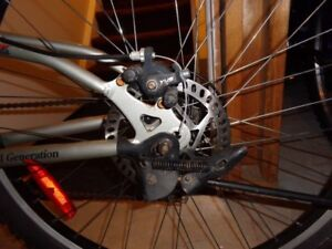 Men Oryx Montain Bike, front and back disc brakes