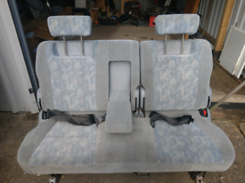 Camper seats from mazda bongo.
