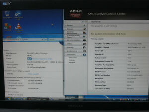 """3Ghz Core2Duo 4GB RADEON HD 5450 1GB gaming tower with 19"""" LCD"""