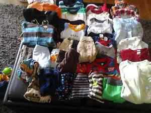 116 baby boy items 0-6 months