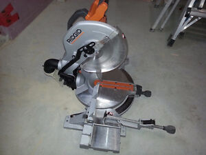 RIDGID 12 In. Compound Mitre Saw with Adjustable Laser