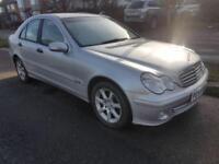 Low Miles Mercedes C Class C200 2.1L CDI Classic SE Diesel Automatic 2.2L Saloon