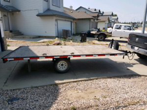 Need to sell asap 14 ft quad trailer