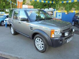 2008 08 LAND ROVER DISCOVERY 3 TDV6 XS AUTO IN GREY # FAMILY OWNED FROM NEW #