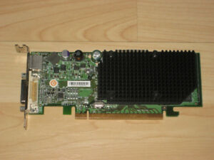 AMD ATi Radeon X1300 PCIE LOW PROFILE PASSIVE COOLED VIDEO CARD