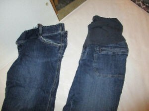 Maternity pants, Jeans, shorts and skirt - size Med and Large.