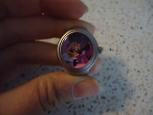Adjustable Minnie Mouse Ring Watch