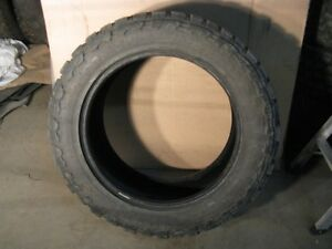Two LT275/55R20 Toyo M/T Open Country Tires 80%