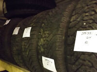 205/55R16 Goodyear Winter Tires – No Cost Installation