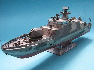 Modelik 09/16 - Finn.  Flugkörperschnellboot FNS Tornio 1:200 mit Lasercutten