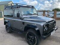2009 Land Rover Defender 90 Hard Top SWB TDCi NO VAT ONLY 33000 MILES FSH PANEL