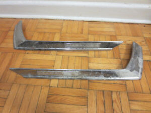 Vintage Mercury Marauder Car Chrome Trim Pieces Parts