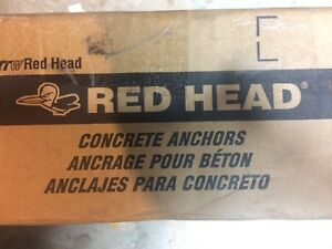 """Wedge Anchor Bolts 5/8"""" x 10"""", Red Head Concrete Anchors Kitchener / Waterloo Kitchener Area image 5"""