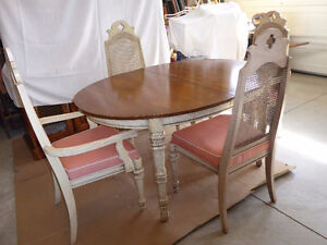dining room table,chairs, china cabinet
