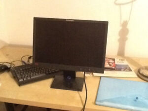 Lenovo LCD 19inch monitor DVI / VGA adjustable stand