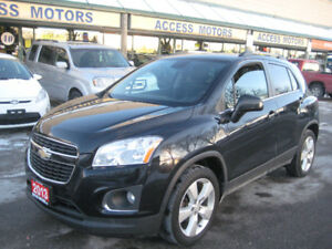2013 Chevrolet Trax, LTZ, AWD, Leather, Sunroof, like New