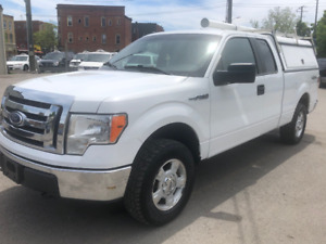 1owner 2011 Ford F-150 4X4  extended cab LERR CAP no rust