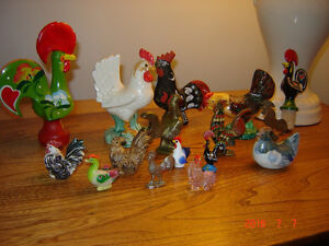 3 Rooster Collections