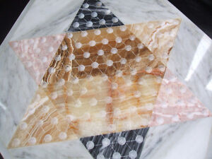 MARBLE/ONYX Chinese Checkers-complete London Ontario image 4