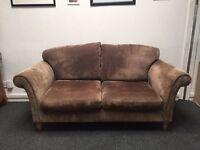 Brown sofa for sake