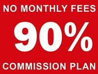 Real Estate Agents Wanted - 90% Commission Plan (Great Training)