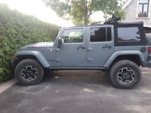 Jeep wrangler unlimited rubicon x