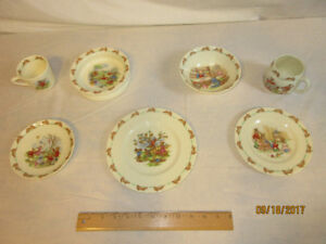 "Royal Doulton "" Bunnykins "" set."