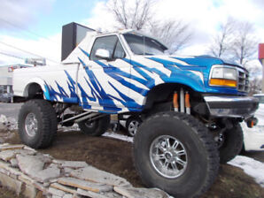 "1995 Ford  F-250 7.3 Turbo-Diesel  4x4 "" Big-Foot """