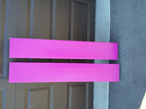 Set of 2 tall pink cardboard boxes NEW London Ontario image 3