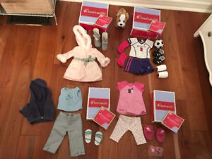 American girl outfits collection & American girl dog