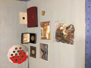 Canadian Coins / Souvenirs & World Coins / Tokens Lot - $130 (FI