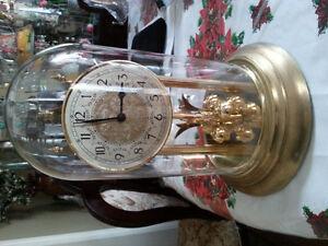 Westminister rotating pendulum clock