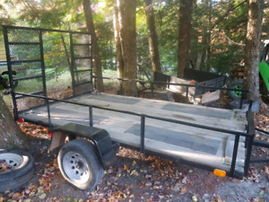"2016 new built trailer 5'10""x10"