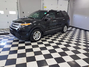 2013 Ford Explorer XLT SUV, Leather,Navigation,4WD 3 Row Seat