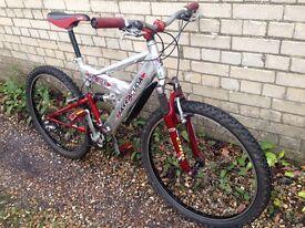 Barracuda Eraser men's full suspension mountain bike