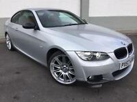 2007 57 BMW 320D M-SPORT **FBSH**FULL RED LEATHER**
