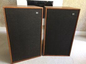 Wharfdale Dovedale 3 Vintage Speakers