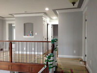 PAINTING the whole house, new construction or repainting; RESTOR