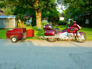 Goldwing 2006, Loaded with Trailer & Cooler