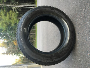 Like new Blizzack winter tires